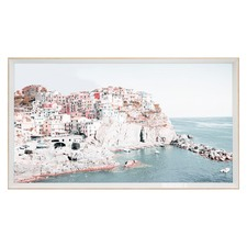 Blush Hilltop Framed Print