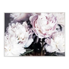 Serene Bunches Framed Canvas