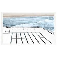 Bathing in Bondi Framed Print
