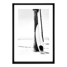 Skyfall Surf Framed Print