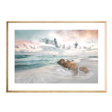Calm Shores Framed Printed Wall Art