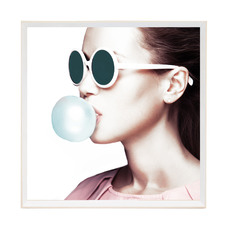 Bubble Pop Framed Printed Wall Art