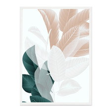 Broadleaf Nude Framed Printed Wall Art