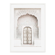 Arabian Doorway Framed Printed Wall Art