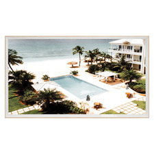 Barbados Pool Framed Printed Wall Art