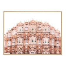 Jaipur Mahal Framed Printed Wall Art