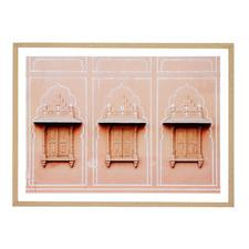 Jaipur Shutters Framed Printed Wall Art