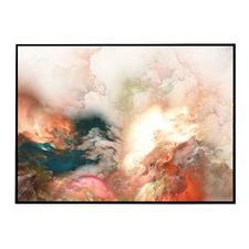 Sienna Abstract Framed Printed  Wall Art