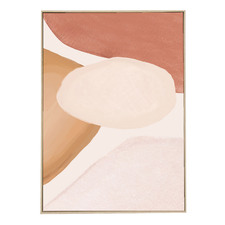 Curvature II Framed Canvas Wall Art