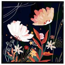 Bluebell Jasmine Framed Acrylic Wall Art