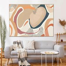 Dulcet Dreams Framed Canvas Wall Art