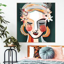 Lotti Framed Canvas Wall Art