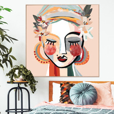 Dotti Framed Canvas Wall Art