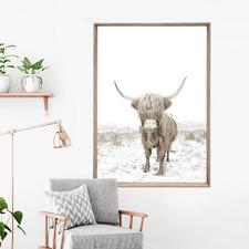 Yakkity Framed Print