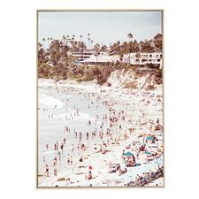 Bellbrea Beach Canvas Wall Art