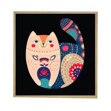 Black Cat Acrylic Wall Art