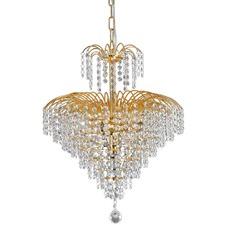Gold Fontana Crystal Pendant Light