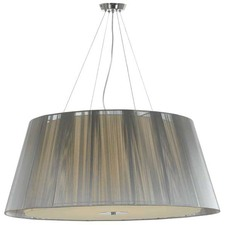 Large Sestra Metal Pendant Light