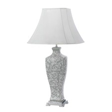 Grey Imperium Ceramic Table Lamp
