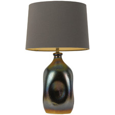 Bronze & Grey Anaya Table Lamp