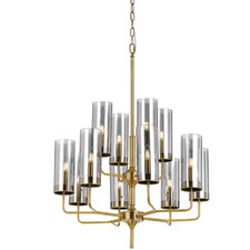 Gold Decaro 12 Light Metal Chandelier
