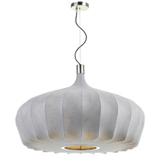 Wide Mersh Metal Pendant Light