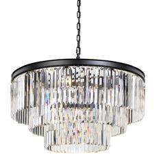 Klidny 16 Light Crystal Pendant