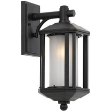 Small Black Havard Metal Outdoor Coach Light
