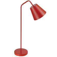 Red Baja Metal Table Lamp
