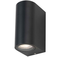 Eos 2 Light Outdoor Wall Pillar Lamp