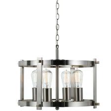 Finley 4 Light Metal Pendant