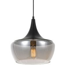 Landy Metal & Glass Pendant Light