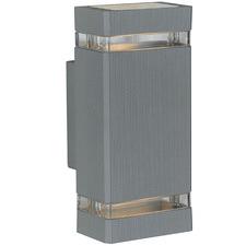 Roland Up & Down Aluminium Wall Light