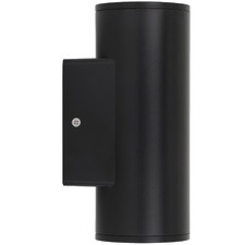 Black LED Rvin Outdoor Wall Lamp