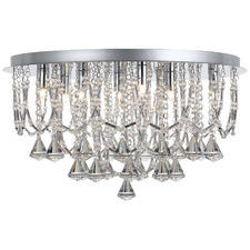 Chrome Sandro 9 Light Chandelier