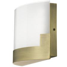 Small Solita Metal Glass Interior Wall Lamp
