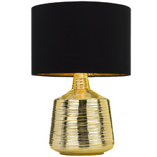 Gold Sylvia Ceramic Table Lamp