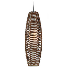Large Tribe Rattan Pendant Light