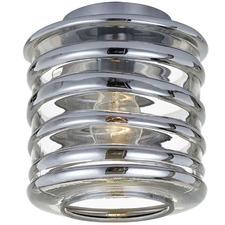 Spirala Glass Batten Fix Glass Ceiling Light