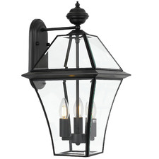 Black Rye Outdoor Wall Light