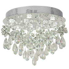 Paradis 9 Light Flush Mount Chandelier