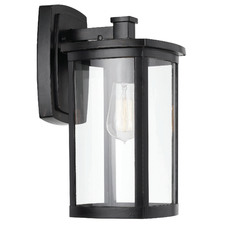 Black Reese Outdoor Wall Light
