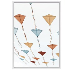 Kites Canvas Wall Art