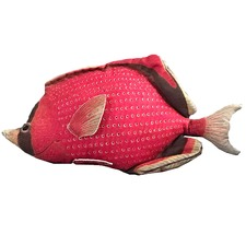 Lori Fish Cotton Cushion