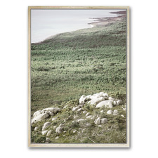 Australian Coastline Framed Canvas Wall Art