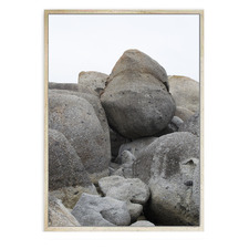 Boulder Framed Canvas Wall Art
