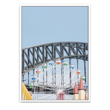 Luna Park Framed Canvas Wall Art