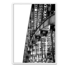 Sydney Harbour Bridge Framed Canvas Wall Art