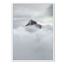 The Peak Framed Canvas Wall Art