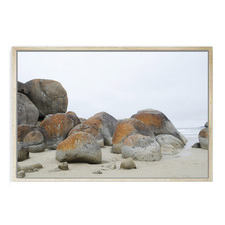Boulder Beach Framed Canvas Wall Art